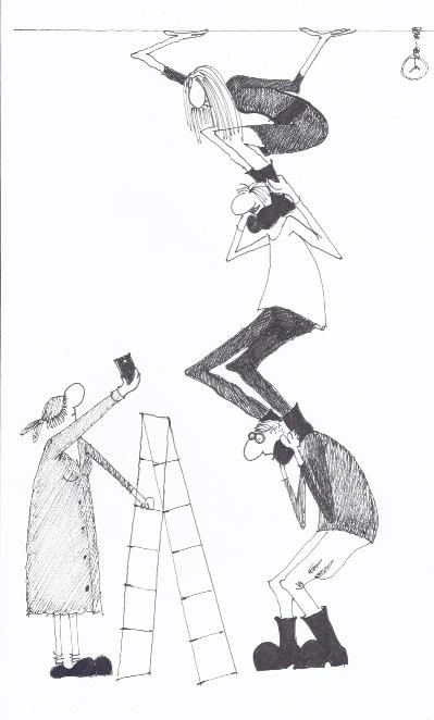 ilustrație Kiki Georgescu