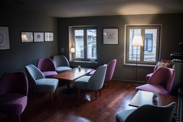 Bistro Matrioșka, etaj, camera separată